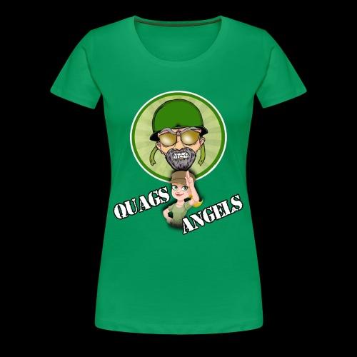 Quag's Angles - Women's Premium T-Shirt