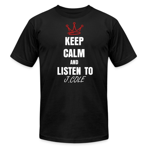 KEEP CALM  - Men's Fine Jersey T-Shirt