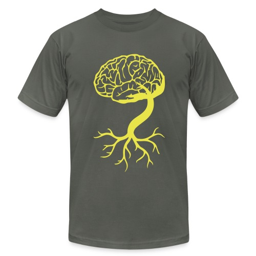 Brain Roots - Men's Fine Jersey T-Shirt