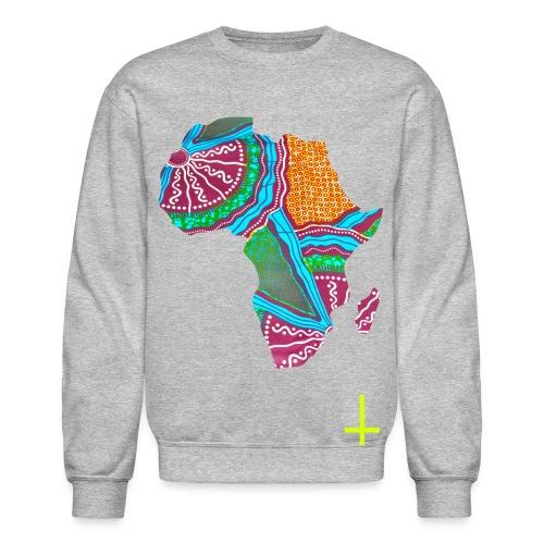 Africa-Gray Crew - Crewneck Sweatshirt