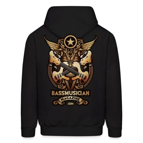 [mens] Bass Glory Hooded Sweat-Shirt in Black - Men's Hoodie