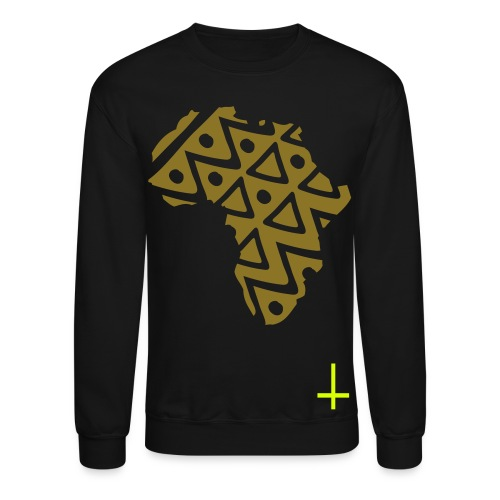 Africa-Gold Crew - Crewneck Sweatshirt