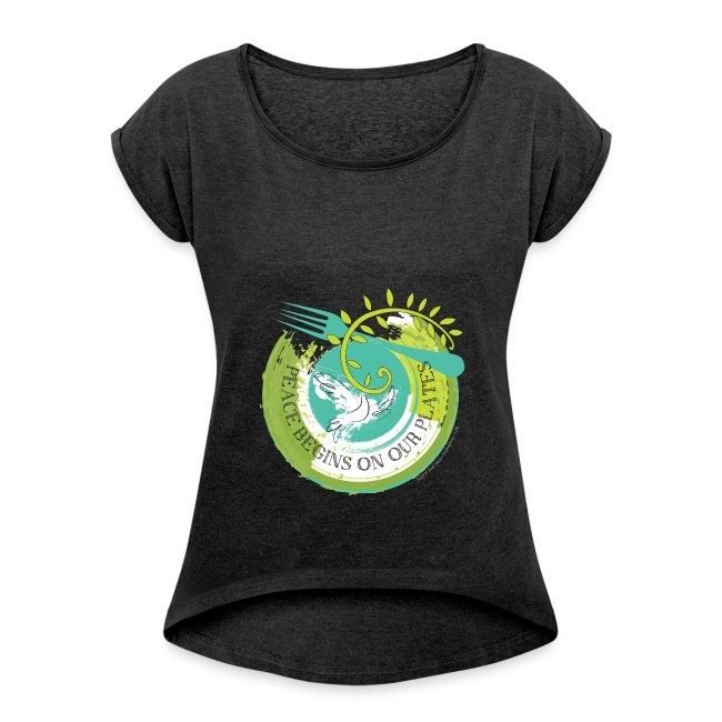 Peace Begins On Our Plates Women's T-Shirt