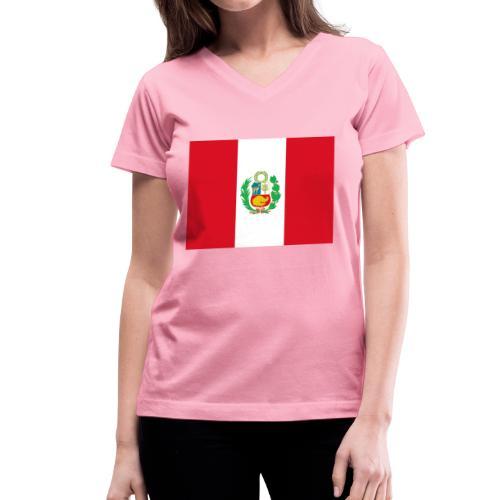 Peru - Women's V-Neck T-Shirt