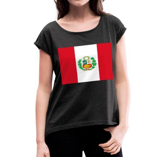 Peru - Women's Roll Cuff T-Shirt