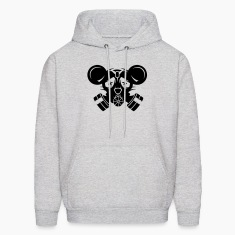 A gas mask with big mouse ears Hoodies