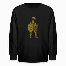 Knight medieval full armour by patjila2 Kids' Shirts