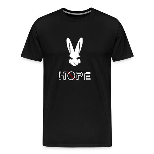 H.Ø.P.E. Bunny T-Shirt - Men's Premium T-Shirt