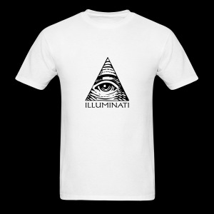 Illuminati Eye Pyramid Shirt - Men's T-Shirt