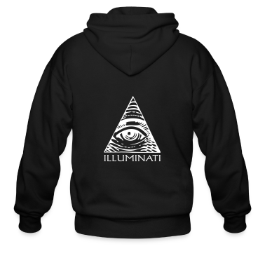 eye illuminati Zip Hoodies/Jackets