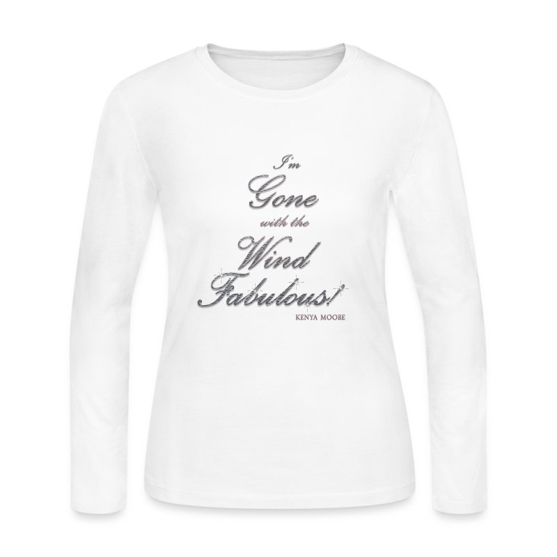 FABULOUS WHITE II - Women's Long Sleeve Jersey T-Shirt