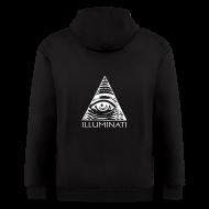Zip Hoodies & Jackets ~ Men's Zip Hoodie ~ Illuminati Hoodie