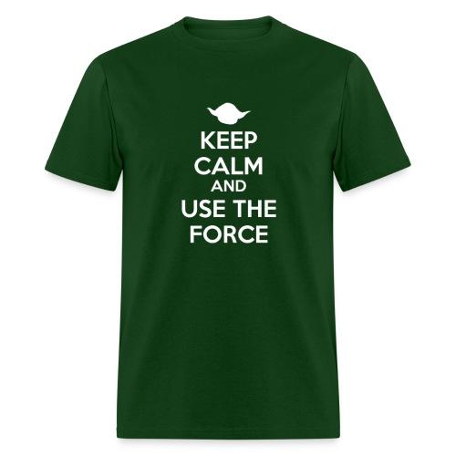 KC Use the Force - Men's T-Shirt