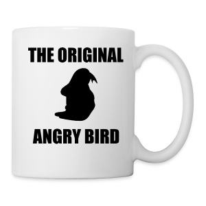 The Original Angry Bird Mug - Coffee/Tea Mug