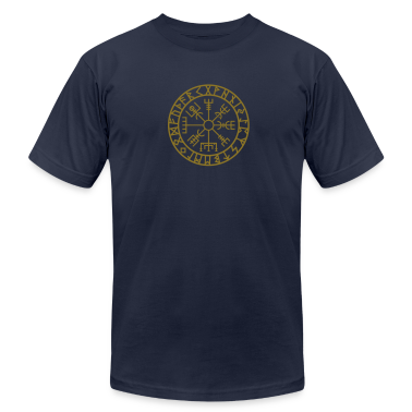 Vegvisir, Futhark, Runes, Navigator,  T-Shirts