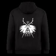 Zip Hoodies & Jackets ~ Men's Zip Hoodie ~ Illuminati Wings Members Hoodie
