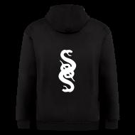 Zip Hoodies & Jackets ~ Men's Zip Hoodie ~ Illuminati Snake Hoodie