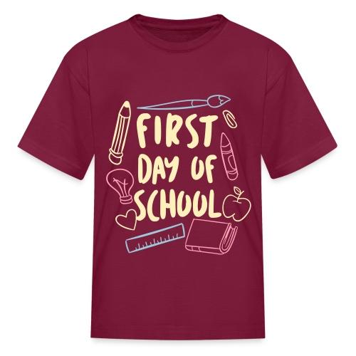 First day of school - Kids' T-Shirt