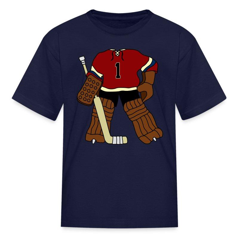vintage hockey goalie t shirt spreadshirt