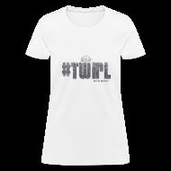 Women's T-Shirts ~ Women's T-Shirt ~ TWIRL WHITE SS