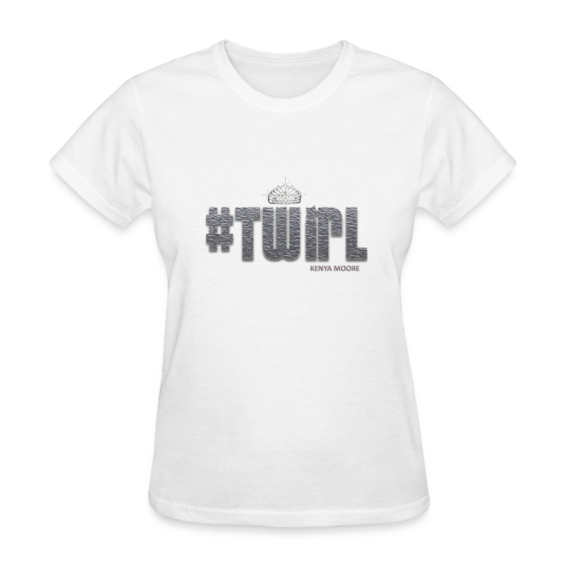 TWIRL WHITE SS - Women's T-Shirt