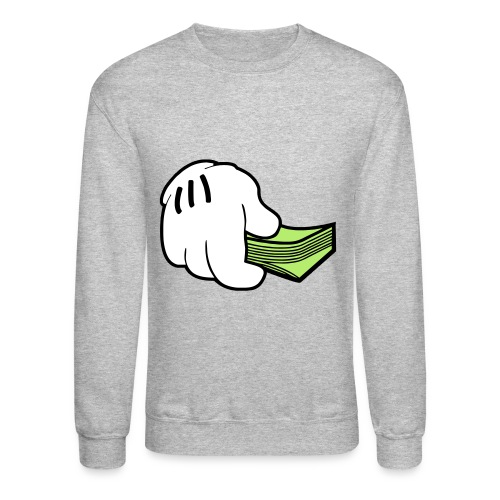 Money Glove Crewneck - Crewneck Sweatshirt