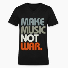 Make Music Not War (Retro) T-Shirts
