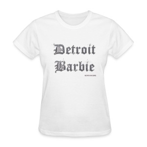 DETROIT BARBIE SILVER - Women's T-Shirt