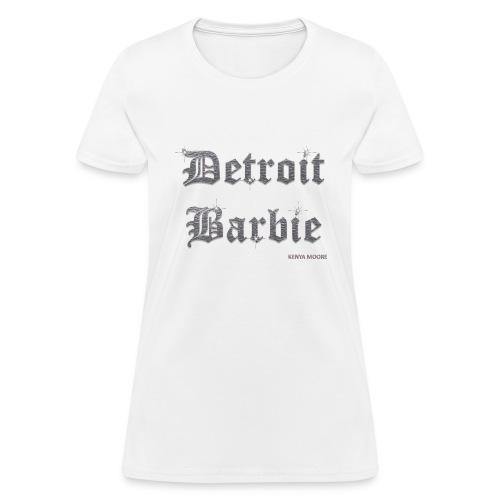 DETROIT BARBIE SILVER - Women's T-Shirt