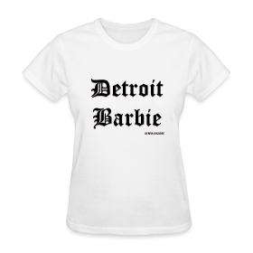 DETROIT BARBIE BLACK ~ 625