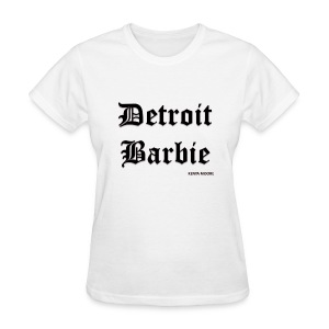 DETROIT BARBIE BLACK - Women's T-Shirt
