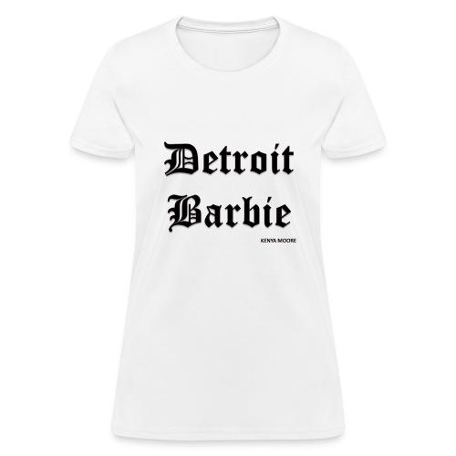 DETROIT BARBIE BLACK - Women's T-Shirt