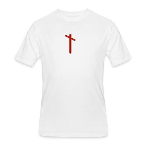 Cross - Men's 50/50 T-Shirt
