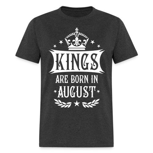 Men's, kings are born in August T-shirt - Men's T-Shirt