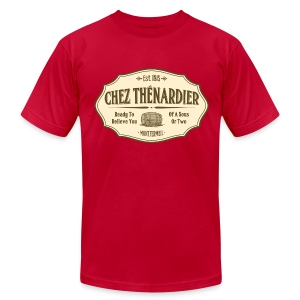 Chez Thénardier - Men's T-Shirt by American Apparel