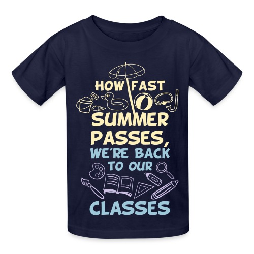 Back to School from Summer - Kids' T-Shirt