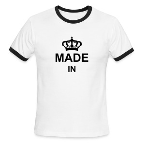 made_in_g1 T-Shirts - Men's Ringer T-Shirt