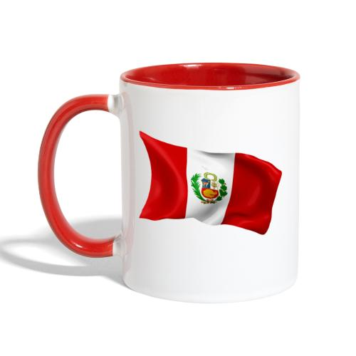 Peru - Contrast Coffee Mug