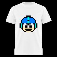 T-Shirts ~ Men's T-Shirt ~ Mega Man Face T-Shirt