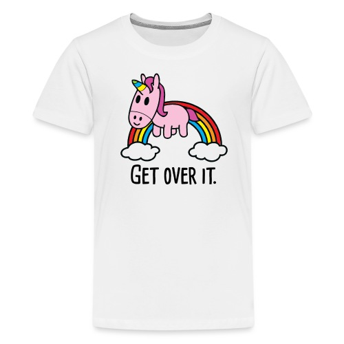 Get Over It Unicorn Kids Tee - Kids' Premium T-Shirt