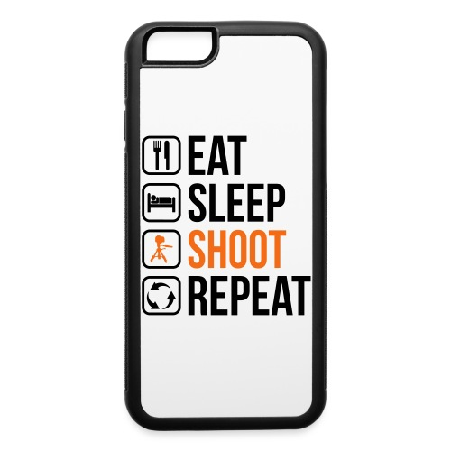 Iphone 6 Case Eat, sleep and shoot - iPhone 6/6s Rubber Case