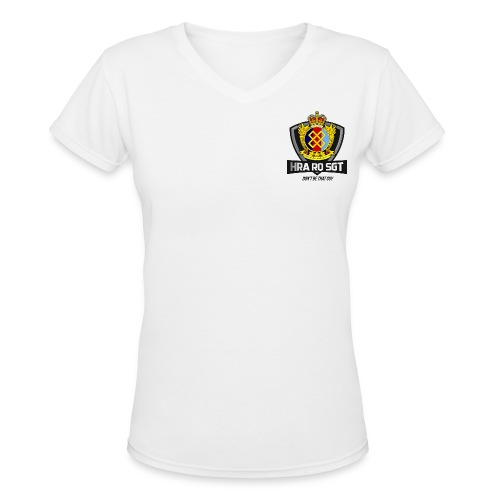 Sgt Allaire Special Edition (Dark Text) - V-neck for Women - Women's V-Neck T-Shirt