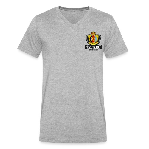 Sgt Allaire Special Edition (Dark Text) - V-neck for Men - Men's V-Neck T-Shirt by Canvas