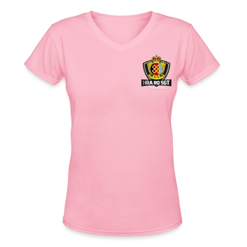 Sgt Allaire Special Edition (White Text) - V-neck for Women - Women's V-Neck T-Shirt
