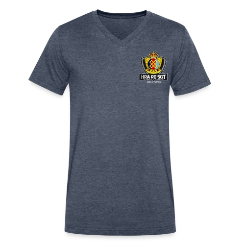 Sgt Allaire Special Edition (White Text) - V-neck for Men - Men's V-Neck T-Shirt by Canvas