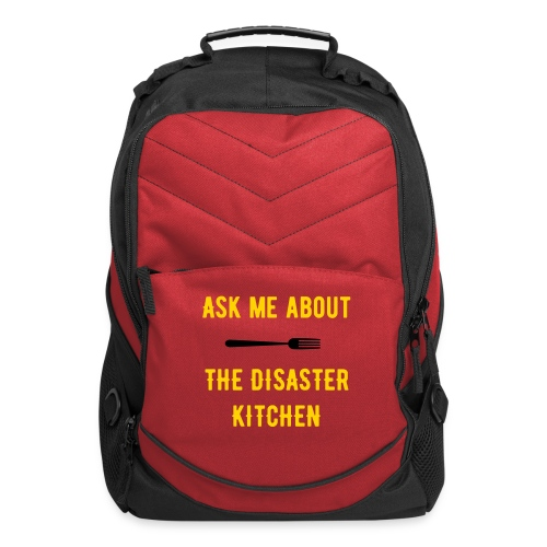 Ask Me About The Melting Potcast Backpack - Computer Backpack