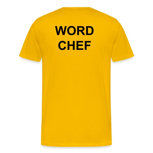 WORD CHEF T-Shirt - Men's Premium T-Shirt