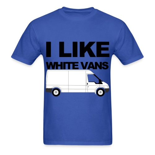 I Like White Vans - Men's T-Shirt
