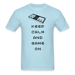 Keep Calm and Game On T-Shirt - Men's T-Shirt