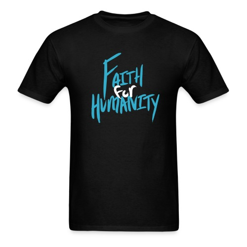 Faith For Humanity Logo - Men's T-Shirt